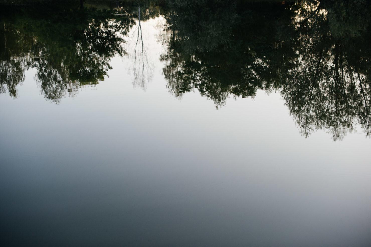 Ula i Tomasz - wesele pod gołym niebem w restauracji Nad Jeziorem w Józefowie. - nad jeziorem