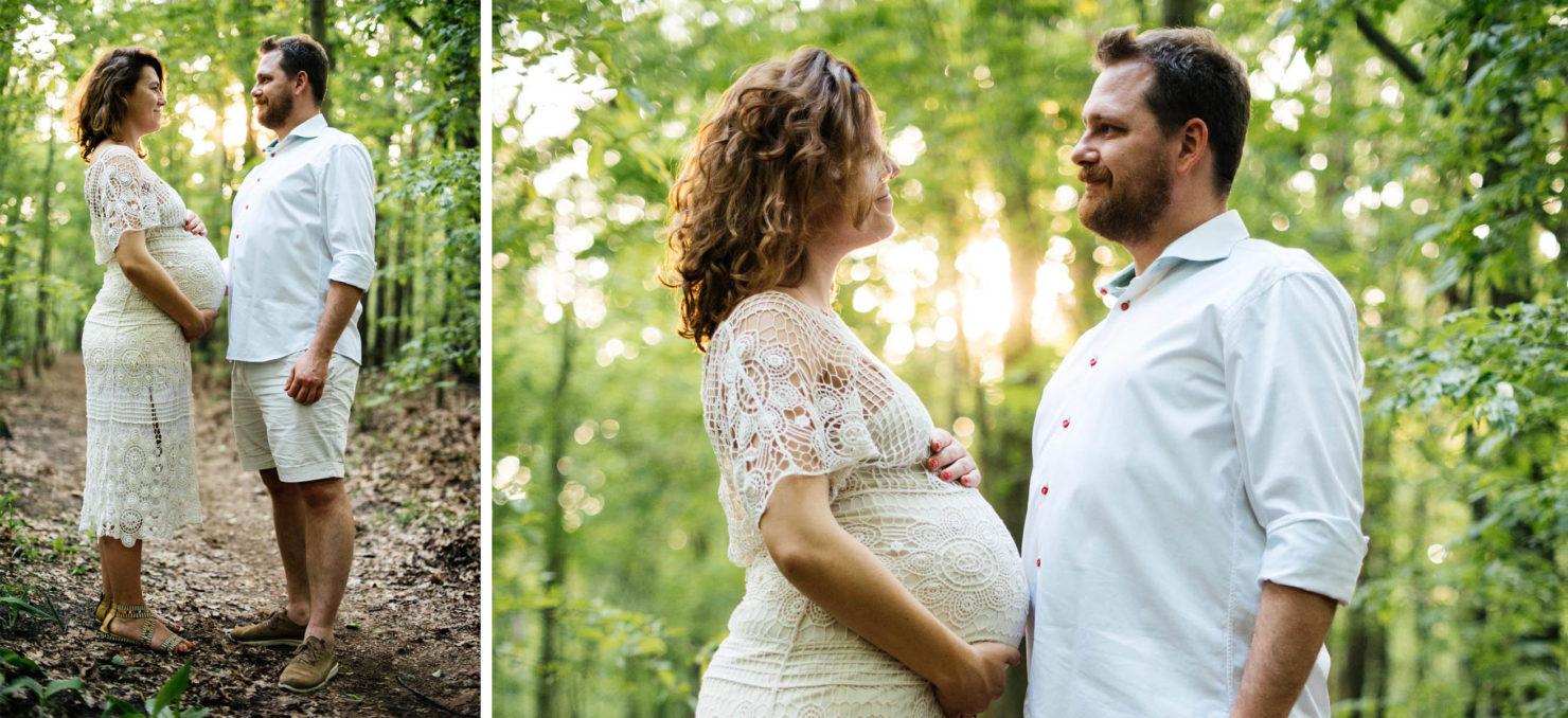 Ola & Mateusz - naturalna sesja ciążowa w domu - naturalna sesja ciążowa